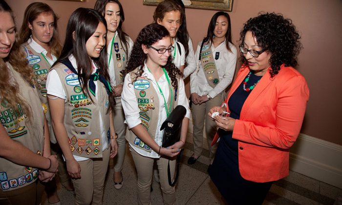 Assemblymember Cristina Garcia in Sacramento, California on June 23, 2016. (Photo by Kelly Sullivan/Getty Images for Girl Scouts)