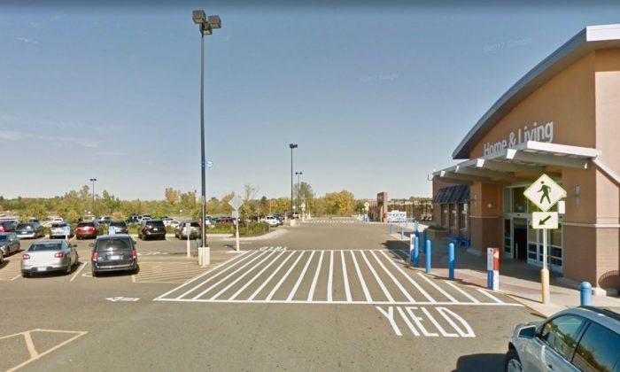Walmart location where suspect stole woman's car, in Sartell, Minn. (Screenshot via Google Maps)