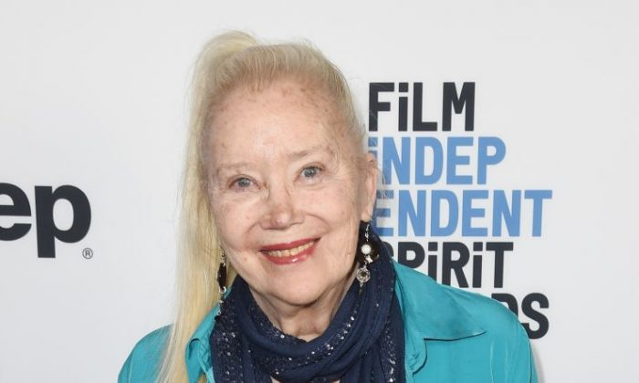 Sally Kirkland attends the Film Independent Spirit Awards Nominee Brunch at BOA Steakhouse in West Hollywood, California on Jan. 6, 2018.  (Photo by Kevin Winter/Getty Images)
