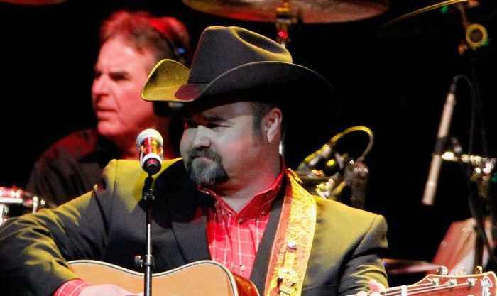 Daryle Singletary performs during Playin' Possum! The Final No Show Tribute To George Jones - Show at Bridgestone Arena in Nashville, Tennessee on Nov. 22, 2013.  (Photo by Terry Wyatt/Getty Images)