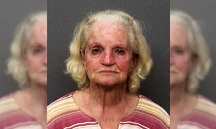 Betty Frances Sanders. (Image via Shasta County Sheriff's Office)
