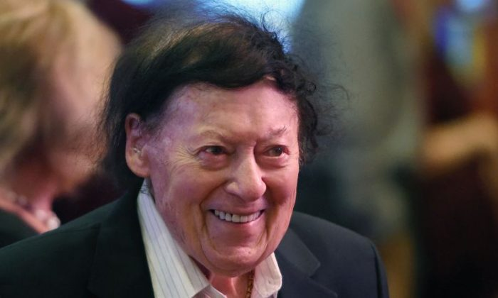 Comedian/actor Marty Allen arrives at a memorial for Jerry Lewis at the South Point Hotel & Casino on September 4, 2017 in Las Vegas, Nevada. Lewis died on August 20, 2017, at his home in Las Vegas at age 91.  (Photo by Ethan Miller/Getty Images)