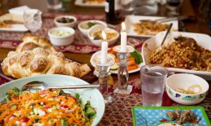 A Friday Tradition: Italian and Jewish Influences Make for an Eclectic Shabbat Dinner
