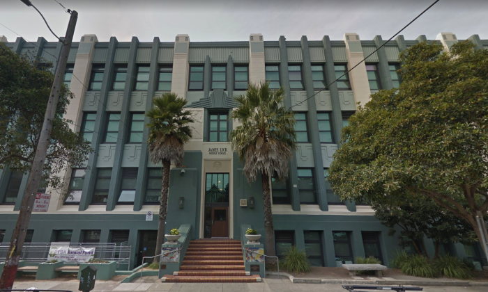 James Lick Middle School, San Francisco (Screenshot / Google Maps)