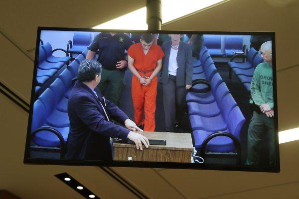 Shooting suspect Nikolas Cruz in court