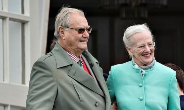 Filer from 2017 showing Danish Queen Margrethe and her husband prince Henrik. The Danish Royal House states in a press release September 6, 2017 that Prince Henrik suffers from dementia. Scanpix Denmark/ Henning Bagger/via REUTERS