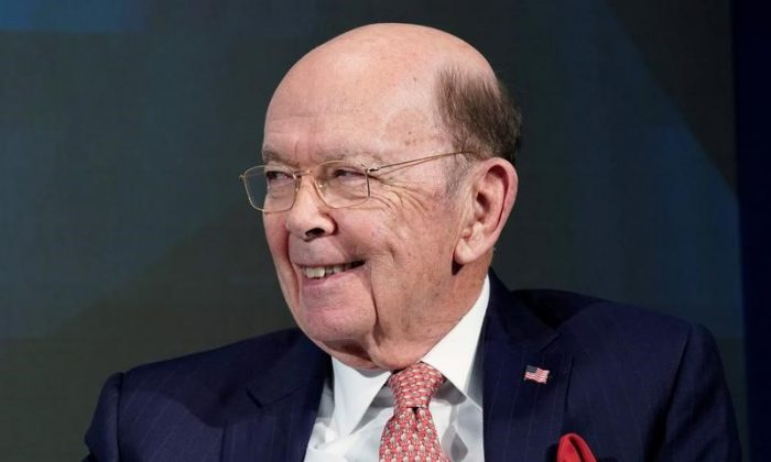 Wilbur L. Ross, U.S. Secretary of Commerce, smiles during the World Economic Forum (WEF) annual meeting in Davos, Switzerland January 24, 2018.  (Reuters/Denis Balibouse)