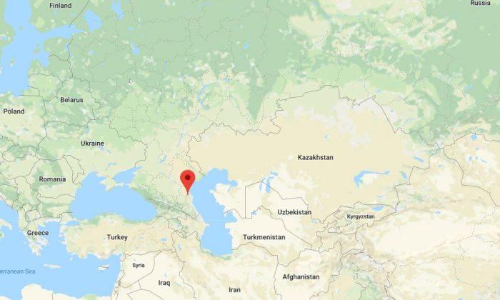 Kizlyar, Russia. (Google Maps)
