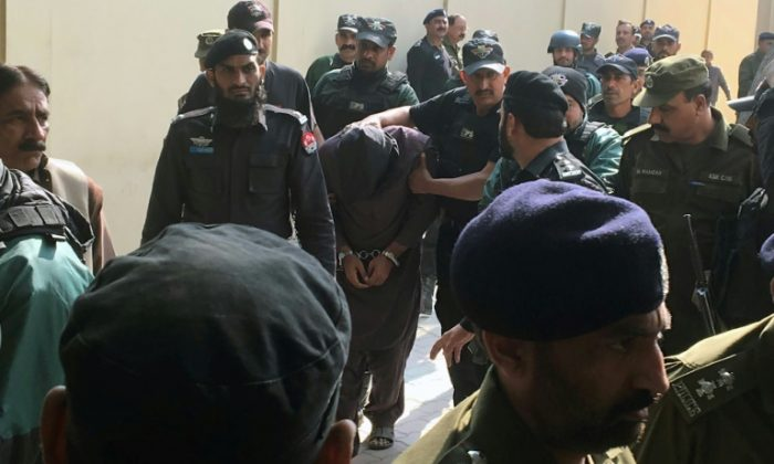 The trial into the death of six-year-old Zainab Fatima Ameen was held in Lahore's Kot Lakhpat prison for security reasons AFP / -