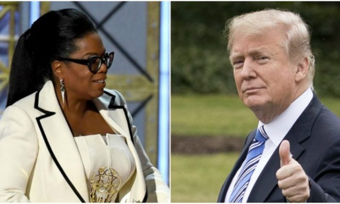 Oprah Winfrey (Kevin Winter/Getty Images) Donald Trump (Samira Bouaou/Epoch Times)
