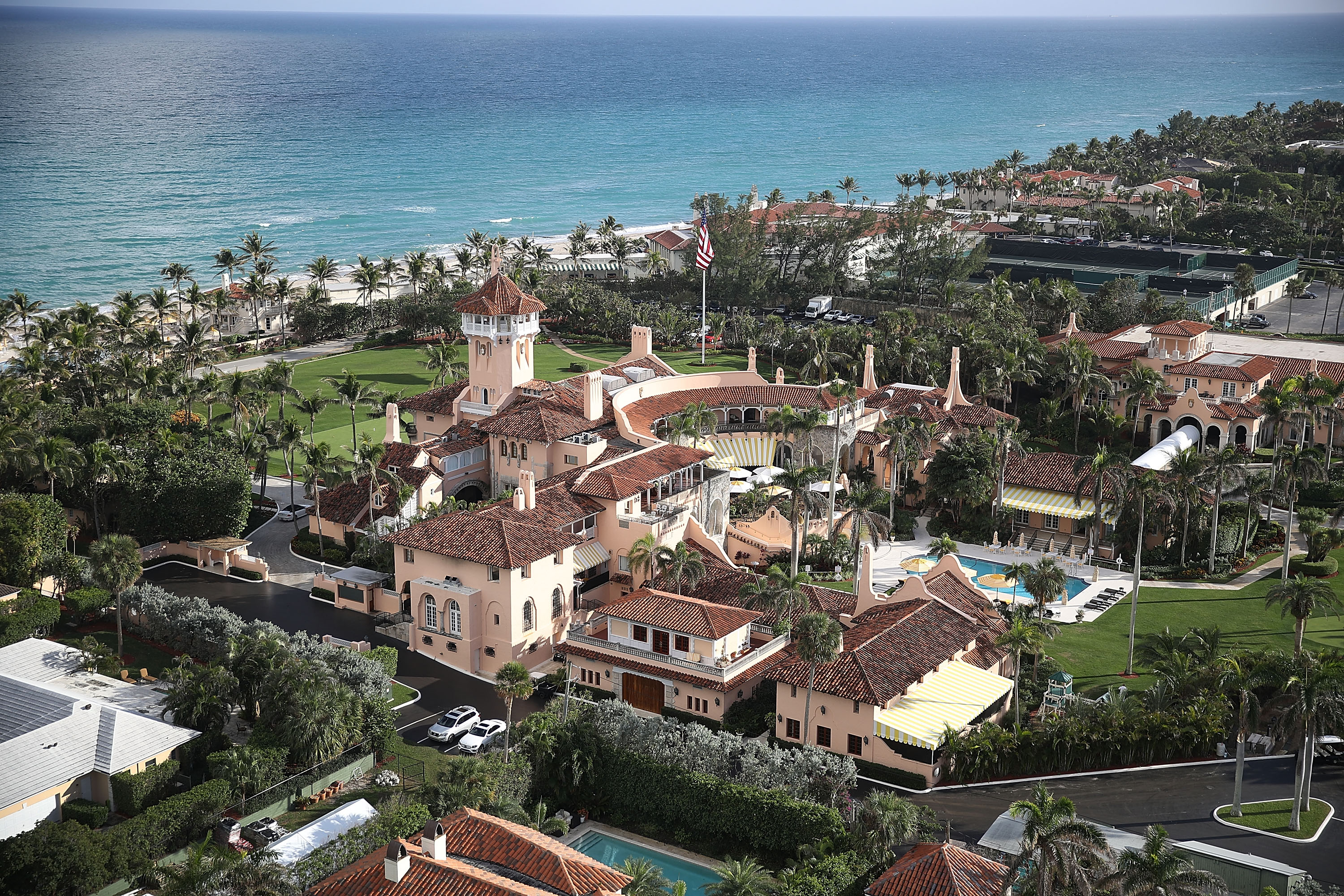President Trump's Mar-a-Lago in Projected Path of Hurricane Dorian