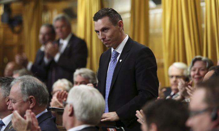 Former Ontario PC leader Patrick Brown shown in a file photo. (Reuters/Mark Blinch/File Photo)