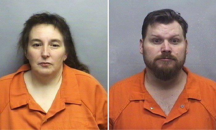 Casey Lynn Stone Parsons (L), Sandy Wade Parsons (R). (Rowan County Sheriff's Office)