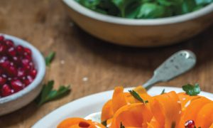 Ali Rosen's Shaved Carrots Salad