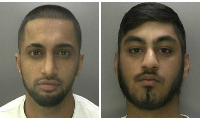 Mohammed Irfan Butt (L) and Zohaib Khalid. (West Midlands Police)