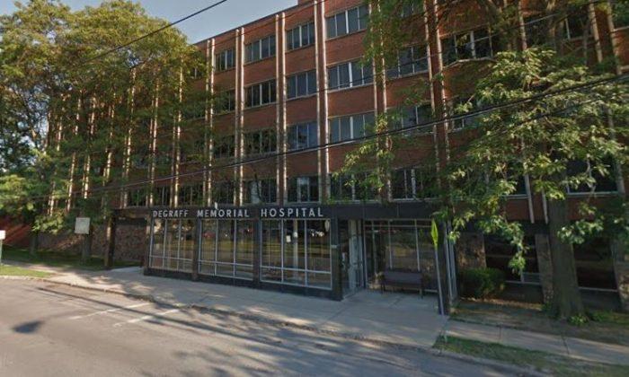 DeGraff Memorial Hospital. (Google Maps)
