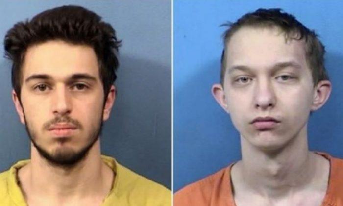 Joshua Miceli (L) and Michael Targo. (DuPage County Sheriff's Office)