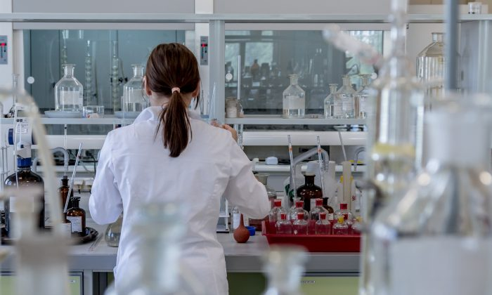 Stock image of a laboratory. (Pixabay)