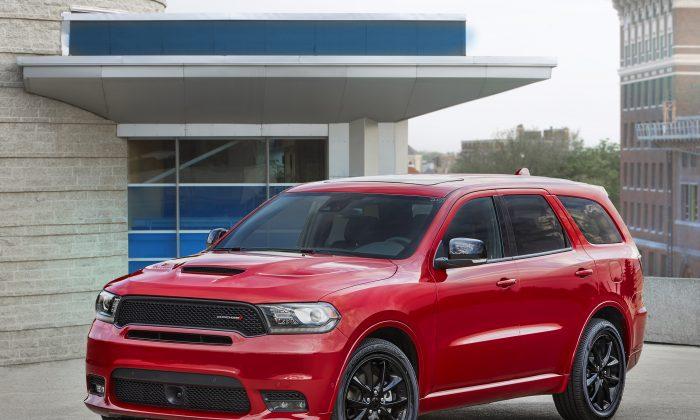 2018 Dodge Durango R/T. (Courtesy of Dodge)