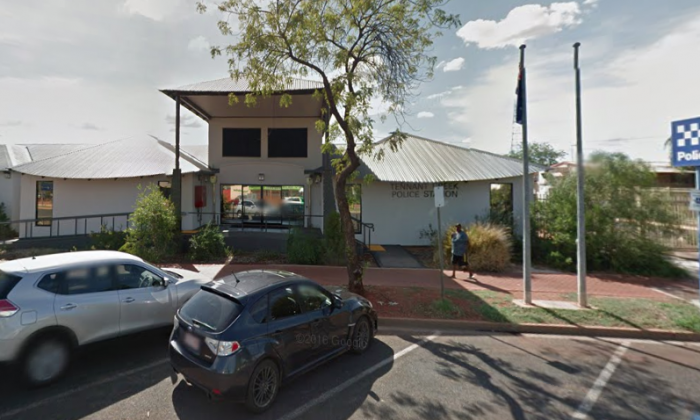 Tennant Creek police station. (Screenshot via Google Maps)