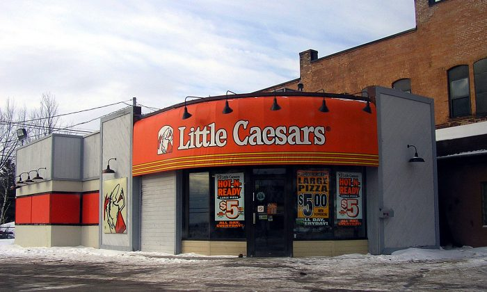 A Little Caesars pizza restaurant. (commons.wikimedia.org)