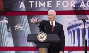Vice President Mike Pence: 'The United States does not stand with murderous dictatorships'