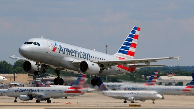 An American Airlines flight was diverted to Denver on Tuesday Feb. 19.
