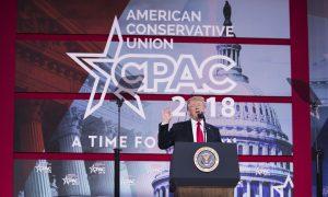 President Trump's CPAC Speech Exalts American Values