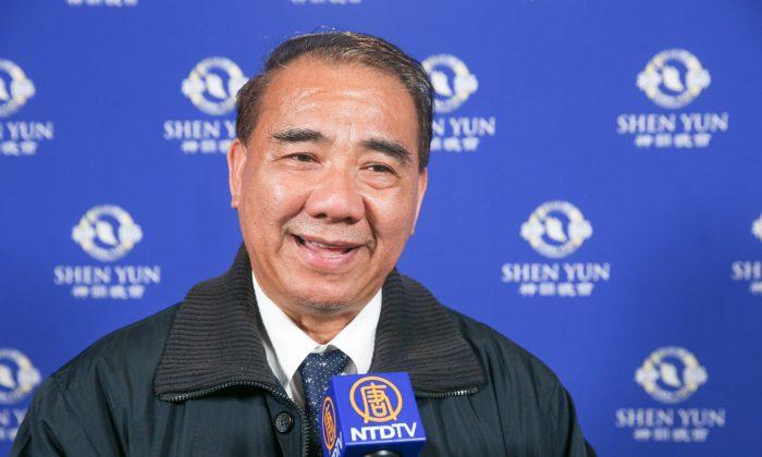 'Shen Yun Reminds Me of My True Nature,' Taiwanese Legislator Says