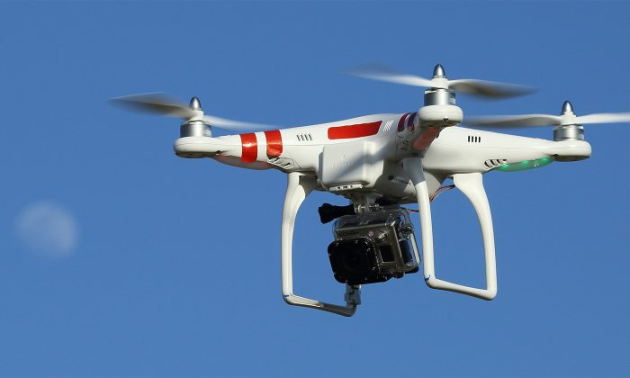 Many drones have mountings for still or video digital cameras. (commons.wikimedia.org)