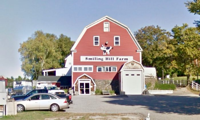 Smiling Hill Farm, location of the goat shooting, in Scarborough, Maine. (Screenshot via Google Maps)