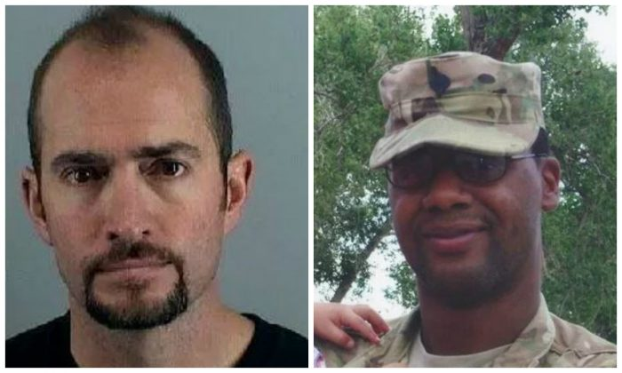 Daniel Barrett Swecker (L) who killed Nelson Marvin Canada (R) while driving under the influence in 2012. (Office of the District Attorney, 18th Judicial District)