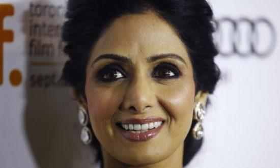 Bollywood Actress Sridevi Dies at 54