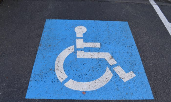 A parking space marked for used by the disabled. (CC0 Public Domain/pxhere)