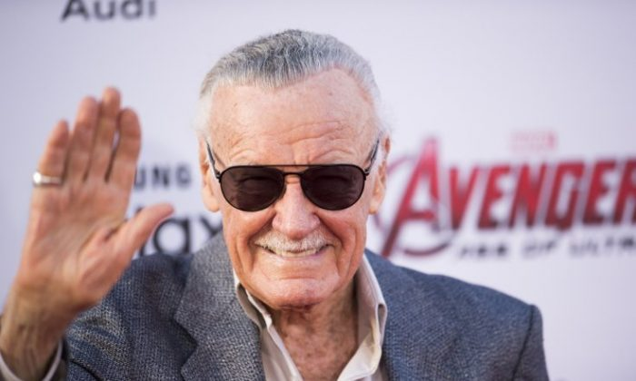 Stan Lee. (Robyn Beck / Getty