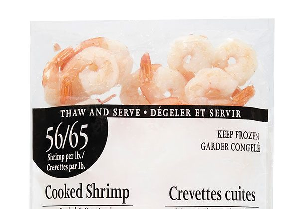 Loblaw is recalling packages of cooked shrimp that may contain raw shrimp. (CFIA)