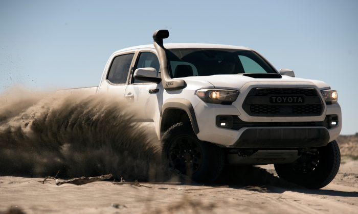 2019 Toyota Tacoma TRD Pro with the TRD Desert Air Intake. (Courtesy of Toyota)