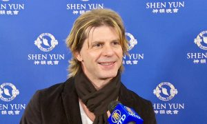 Singer Says the Emotion Behind Shen Yun Music Touches Him