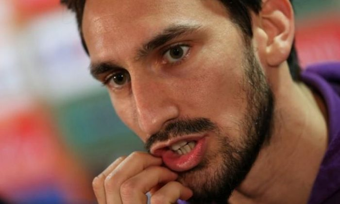 Fiorentina's Davide Astori during the press conference Action Images via Reuters / Matthew Childs Livepic /File Photo