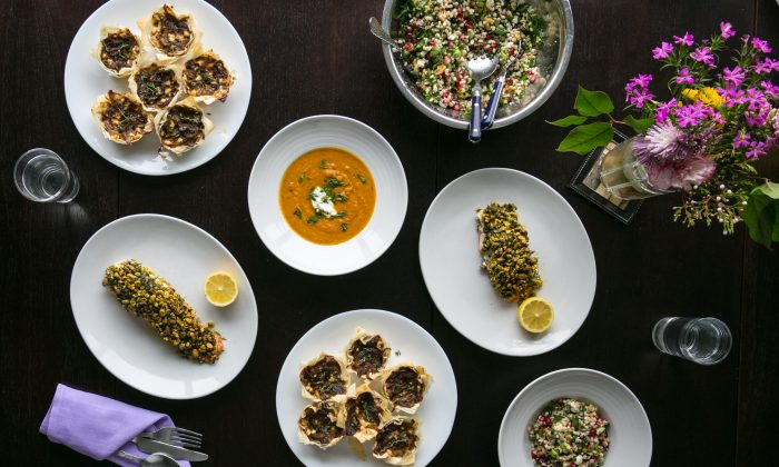 Maria Benardis's Greek cooking is a feast for the soul—fresh, flavorful, and, most importantly, made with love. (Benjamin Chasteen/The Epoch Times)