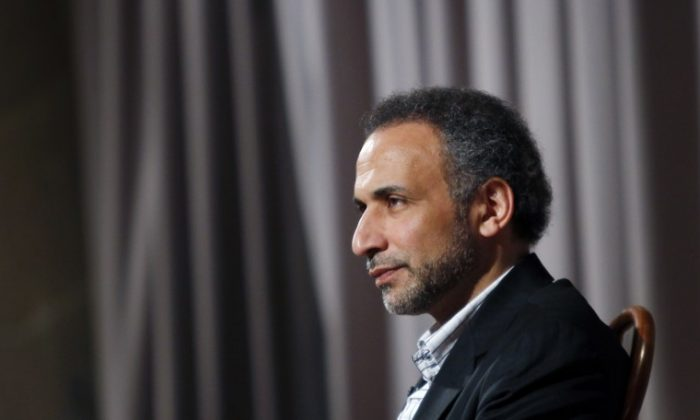 Author Tariq Ramadan is seen during an interview with Reuters in New York April 8, 2010. (Reuters/Mike Segar)
