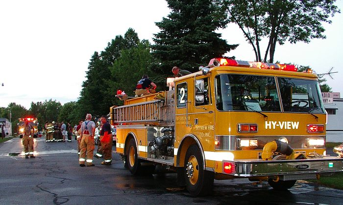 The Hy-View Fire Department at work (http://www.hyviewfire.org)