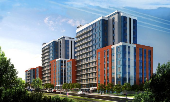 A rendering of Sunview Suites. (Courtesy of Prica Global Enterprises)
