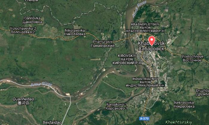 Khabarovsk, Russia. (Screenshot via Google Maps)