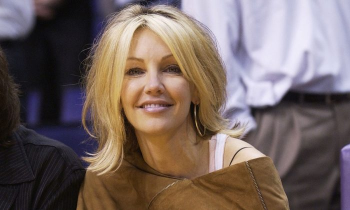 Actress Heather Locklear in 2003. (Vince Bucci/Getty Images)