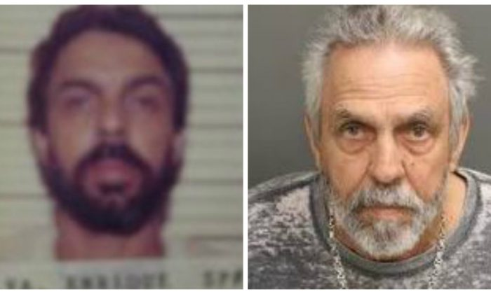 A file mugshot of Enrique Silva, and a current mugshot of Silva. (New Jersey Department of Corrections)