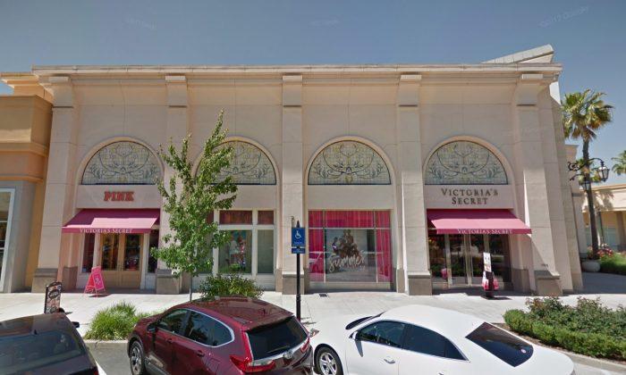 Victoria's Secret in Folsom, California, where two women tried to steal $11,000 worth of bras. (Screenshot via Google Maps)