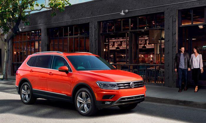 2018 Volkswagen Tiguan. (Courtesy of VW)