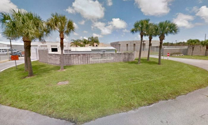 Indian River County Jail, where two assistant nurses are being held for defrauding patients out of hundreds of thousands of dollars. (Screenshot via Google Maps)