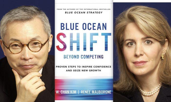 'Blue Ocean Shift—Beyond Competing' by W. Chan Kim and Renée Mauborgne. (Hachette Books)